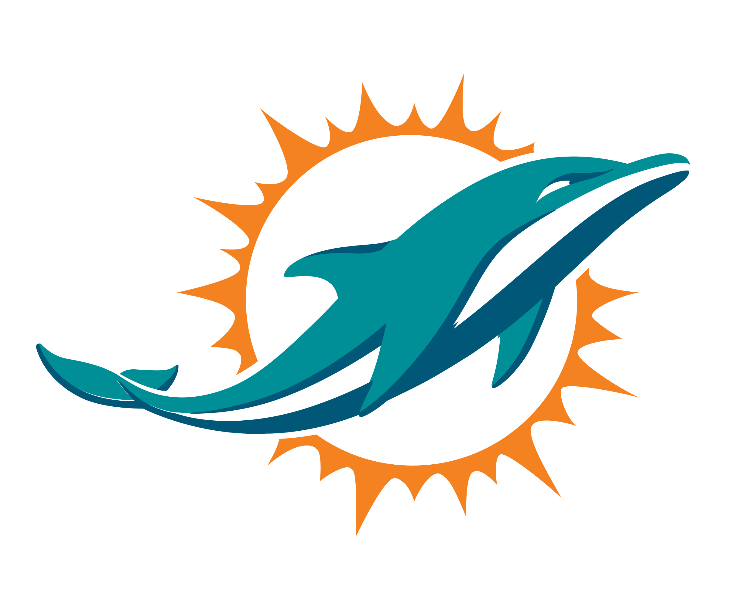 image library stock Vector dolphin logo. Miami dolphins png transparent