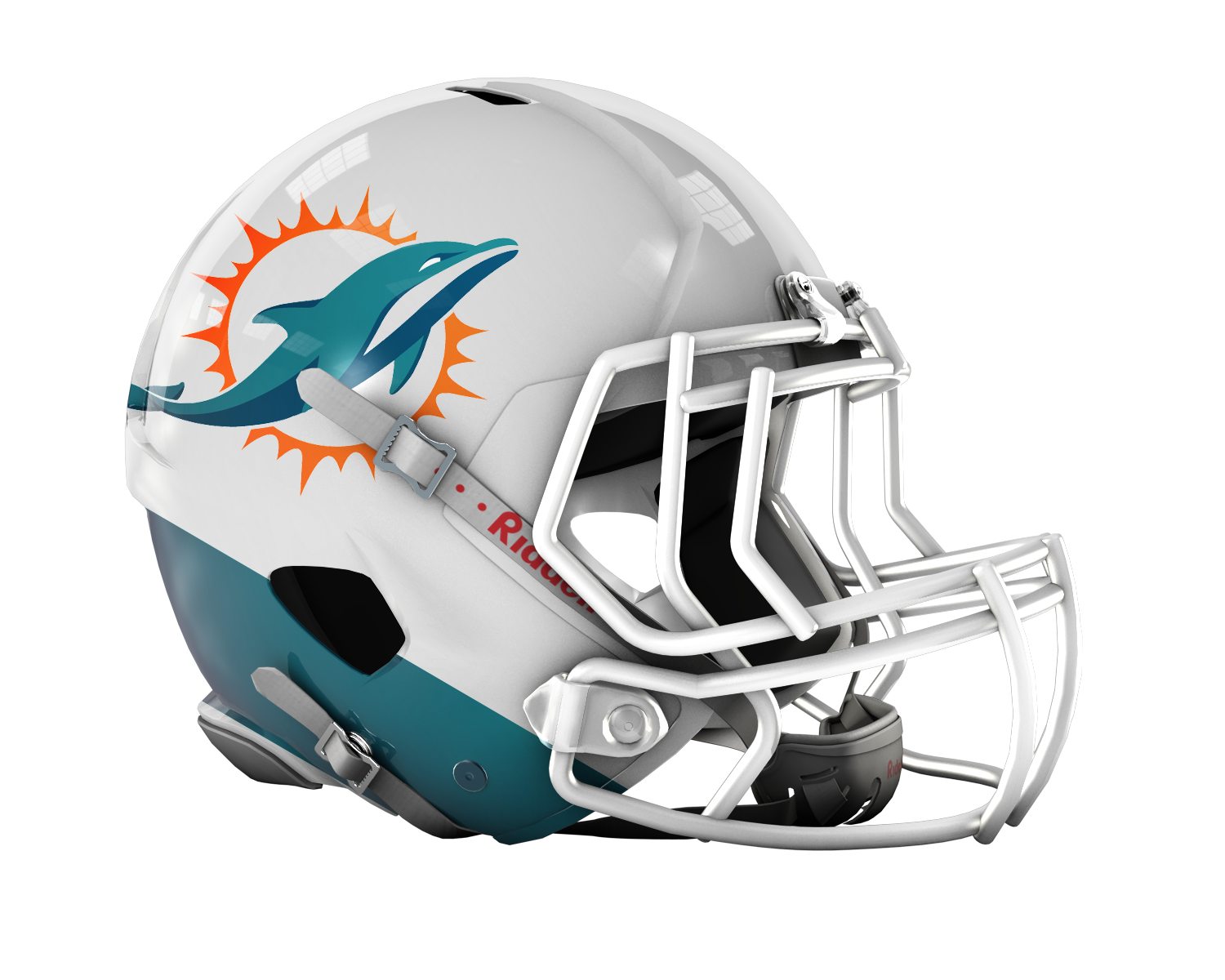 graphic freeuse Vector dolphin helmet. Miami dolphins nfl football
