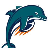 jpg transparent stock Miami dolphins animated gifs. Vector dolphin logo