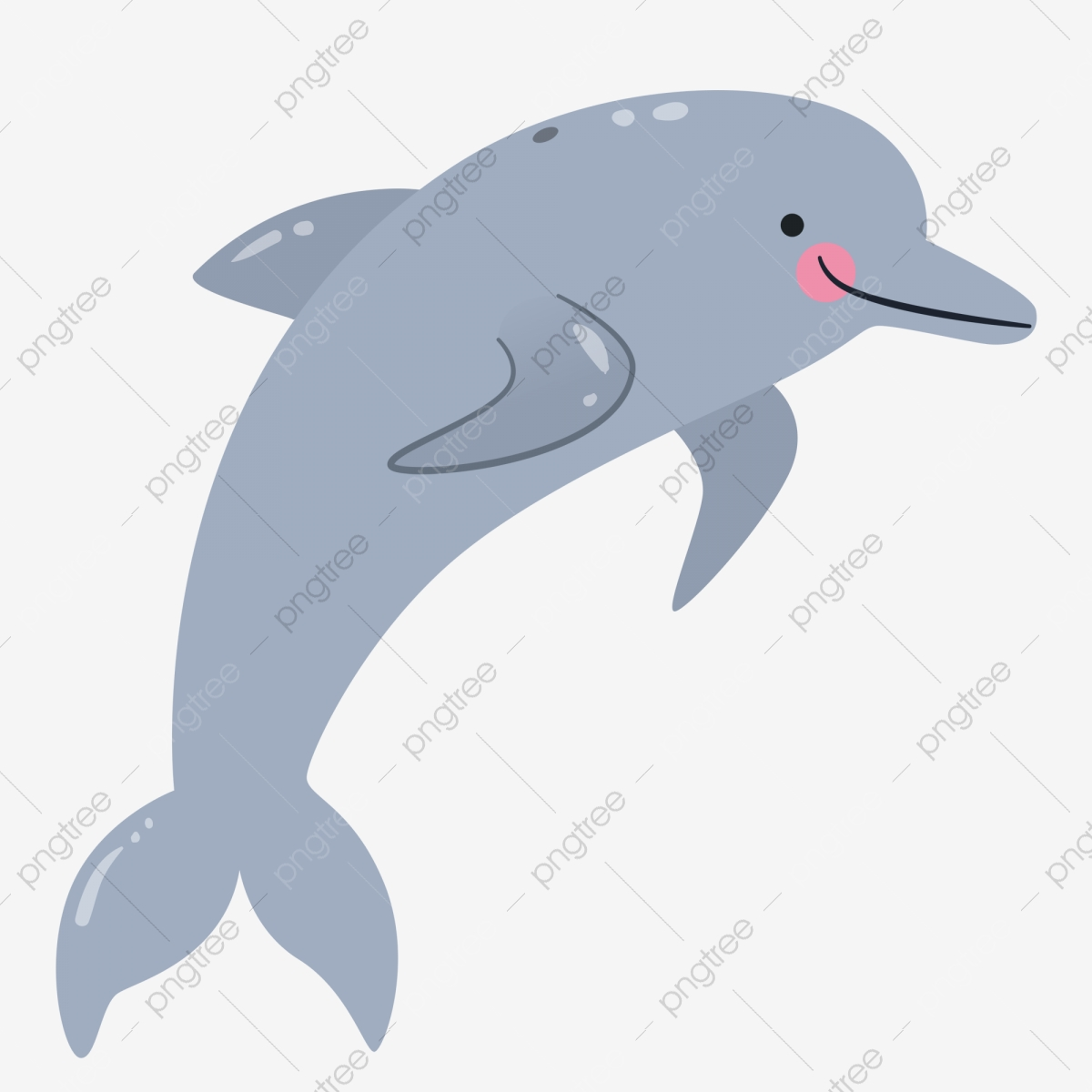 svg freeuse stock Png and . Vector dolphin realistic cartoon