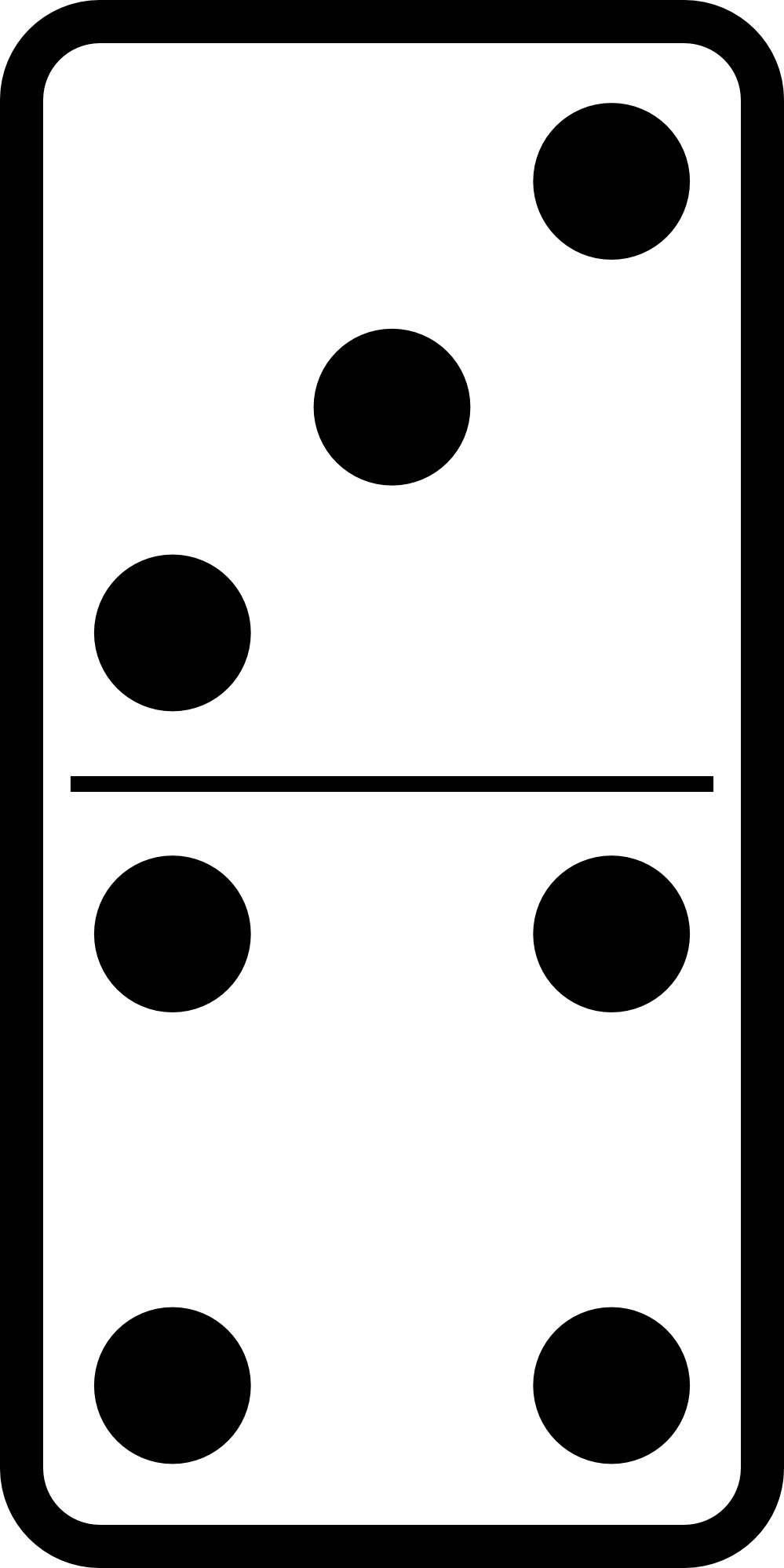 clip transparent Dominoes free download best. Domino clipart.