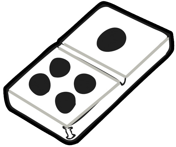 clip art royalty free Free dominoes cliparts download. Domino clipart.