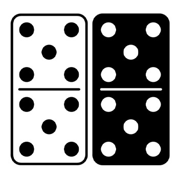 png library download Domino clipart. Dominoes clip art