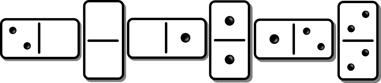 picture library library Free Dominoes Cliparts