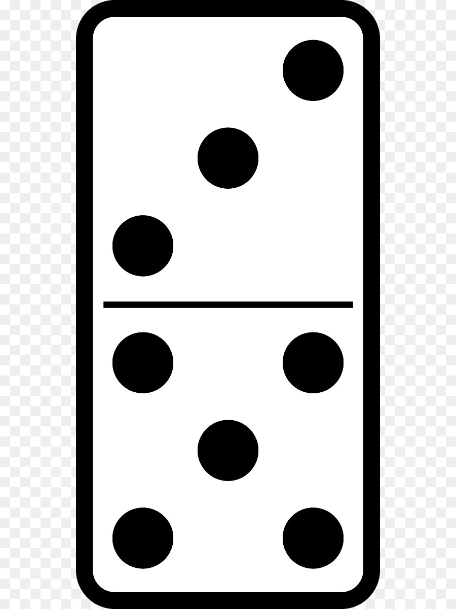 clipart black and white library Domino clipart dominoe. Black and white station