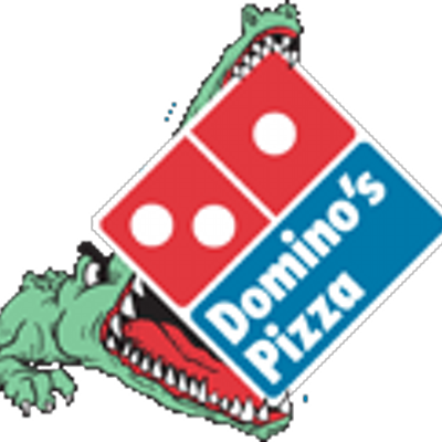 picture black and white library Gator s gatordominos twitter. Domino clipart dominoe