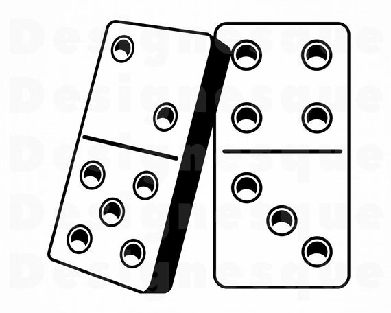 png freeuse download Domino clipart dominoe. Dominoes svg files for