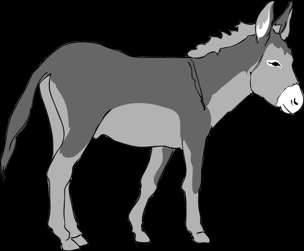 graphic royalty free Nativity clipart donkey. Panda free images donkeys.