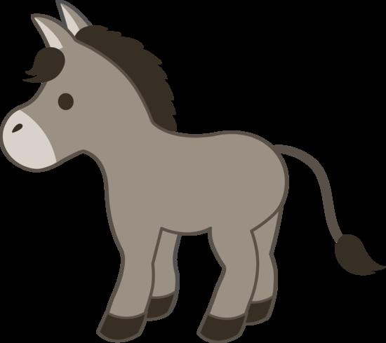 clipart library stock Donkey clipart fiesta. Cute gray farm pinterest