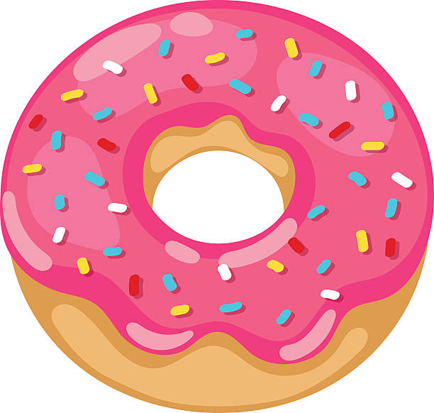clip library stock San diego . Donut clipart