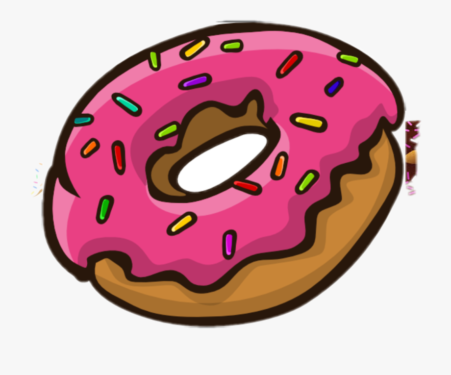 freeuse Donut clipart. Donuts with sprinkles transparent