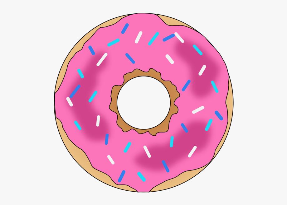 png freeuse download Donuts dessert pink clip. Donut clipart