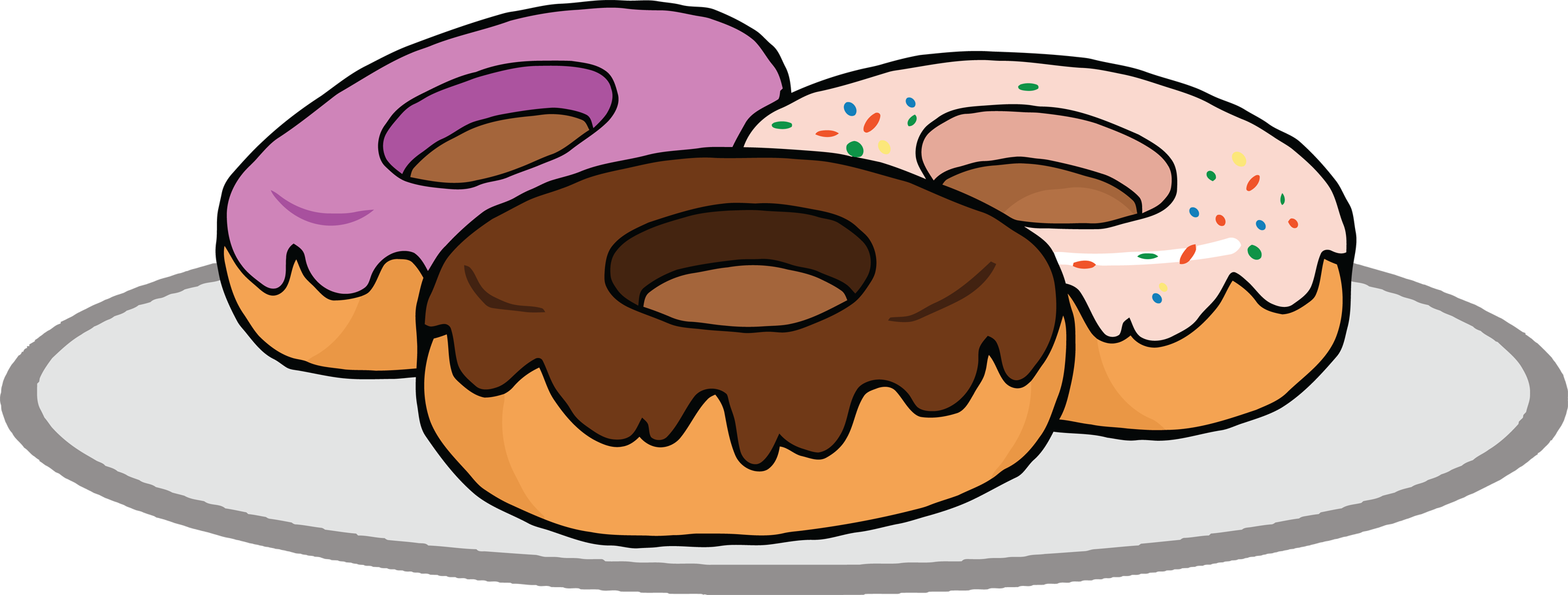 transparent Donuts frames illustrations hd. Cinnamon roll clipart cinnamon sugar.