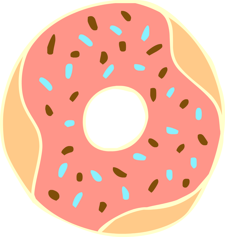 clipart transparent Free Donut Cliparts