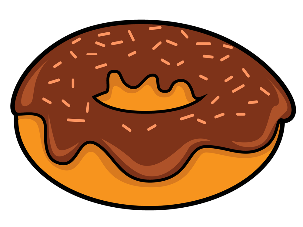 image royalty free download Free Cartoon Donut Cliparts
