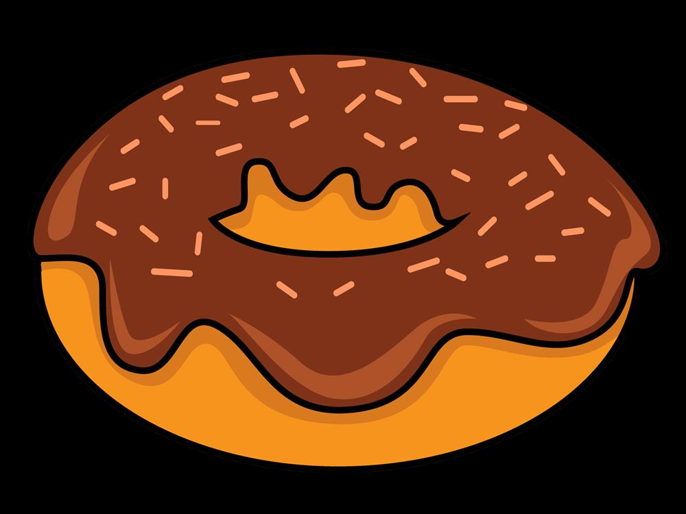 vector library Free cartoon cliparts download. Vector donut gambar