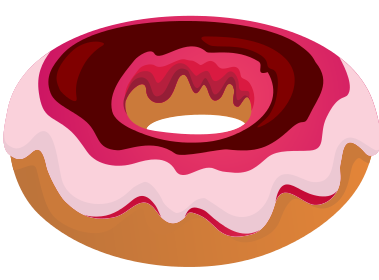 clip art library Colorful free on dumielauxepices. Doughnut clipart pile.