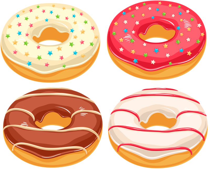 clip library sweets clipart donut #84401363