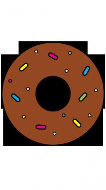 clip royalty free stock Donut Drawing at GetDrawings