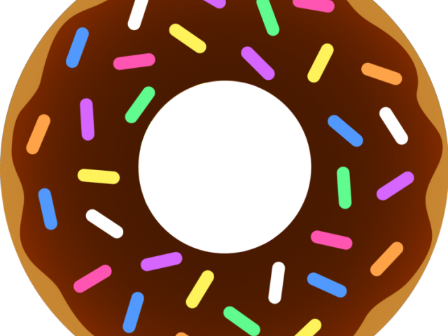 vector transparent library Dunkin Donuts Clipart