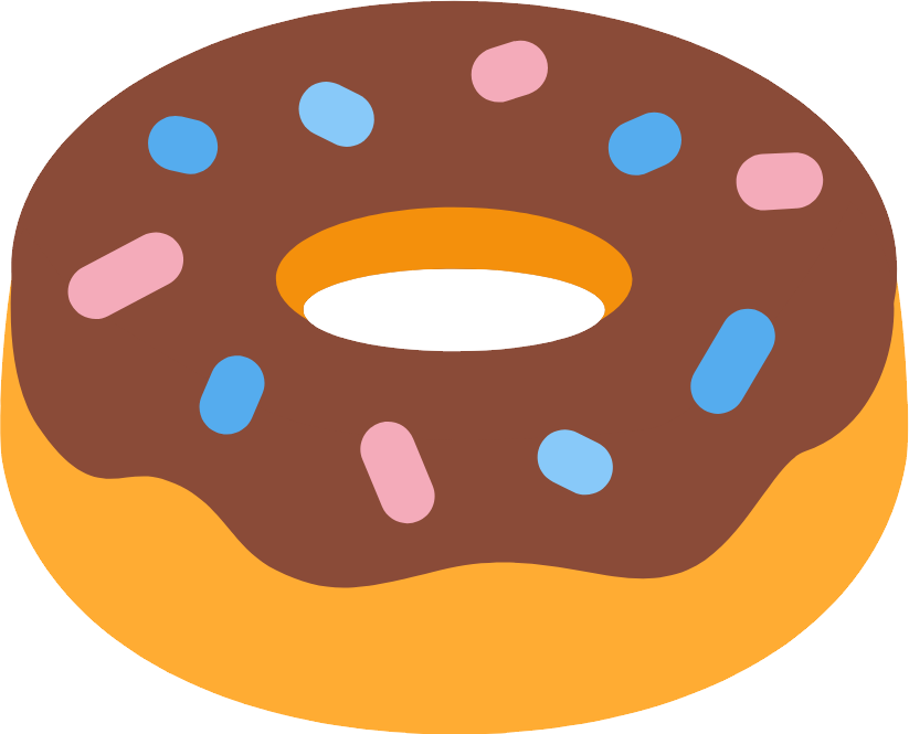 clip free stock Donut PNG