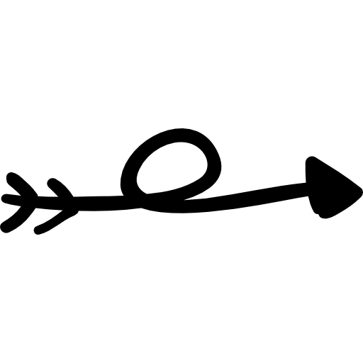 vector transparent stock Doodle arrow clipart. Trajectory scribble down arrows.