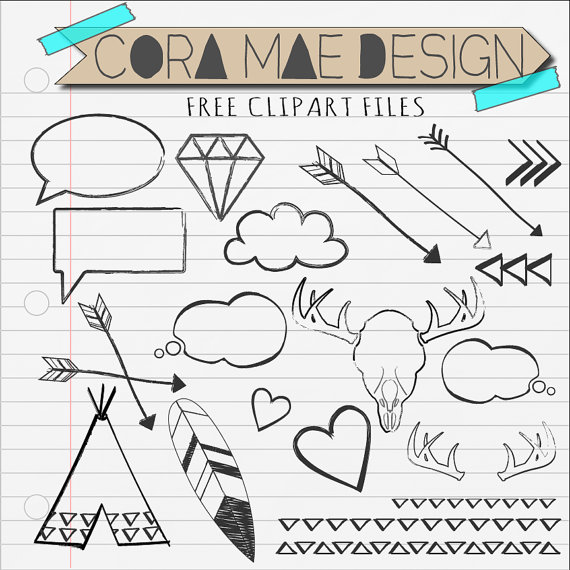 vector freeuse library Free doodles cliparts download. Doodle clipart.