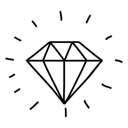 svg free stock Gem doodle transparent png. Vector color diamond
