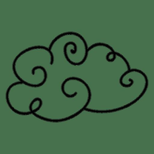clip art transparent stock Doodle vector. Cloud sky transparent png