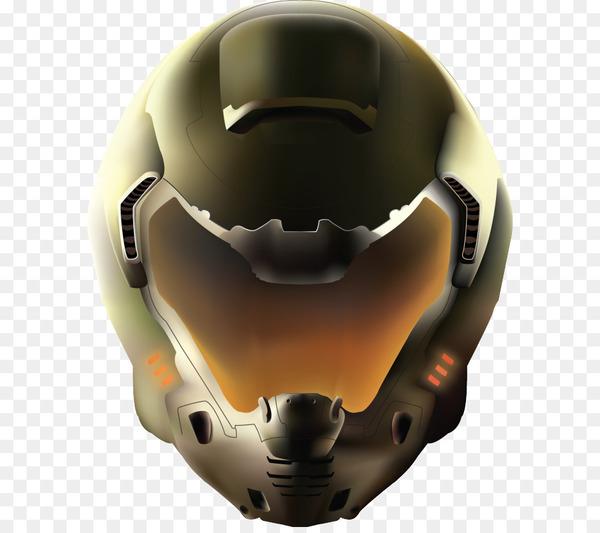 vector transparent download Doom transparent helmet. Doomguy american football helmets