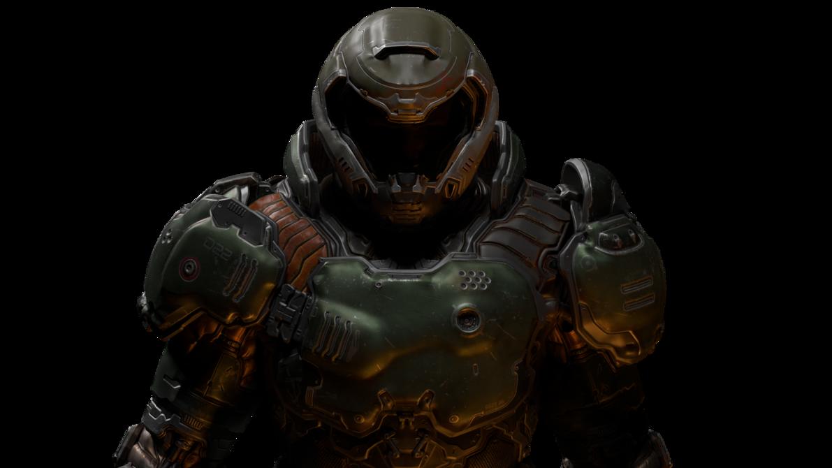 black and white stock Slayer by telemuscnt on. Doom transparent helmet