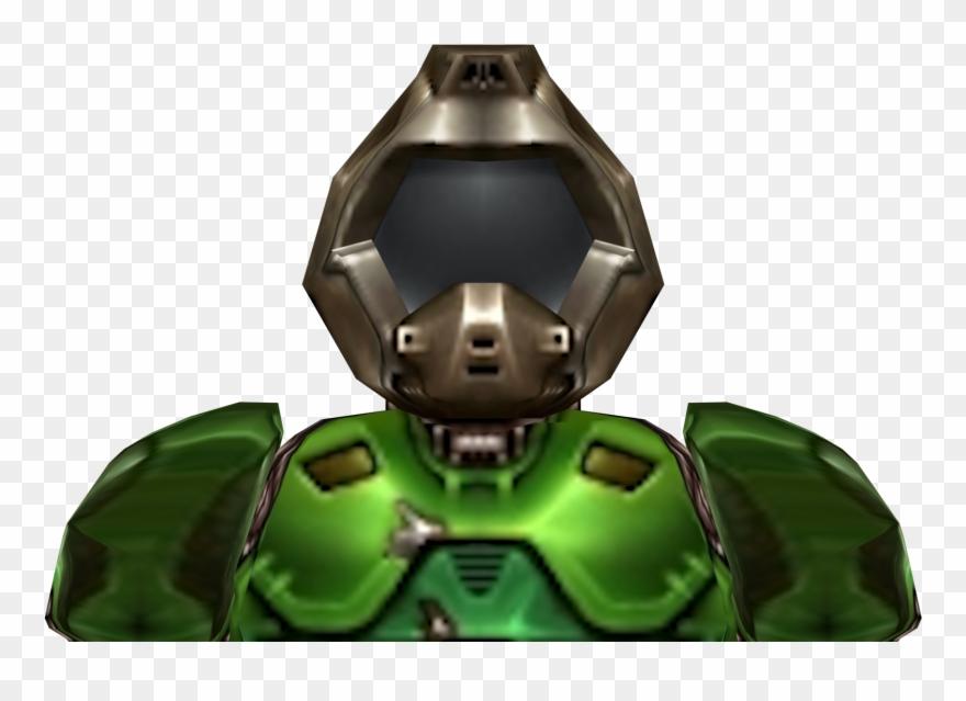 png black and white library Doomguy png clip art. Doom transparent helmet