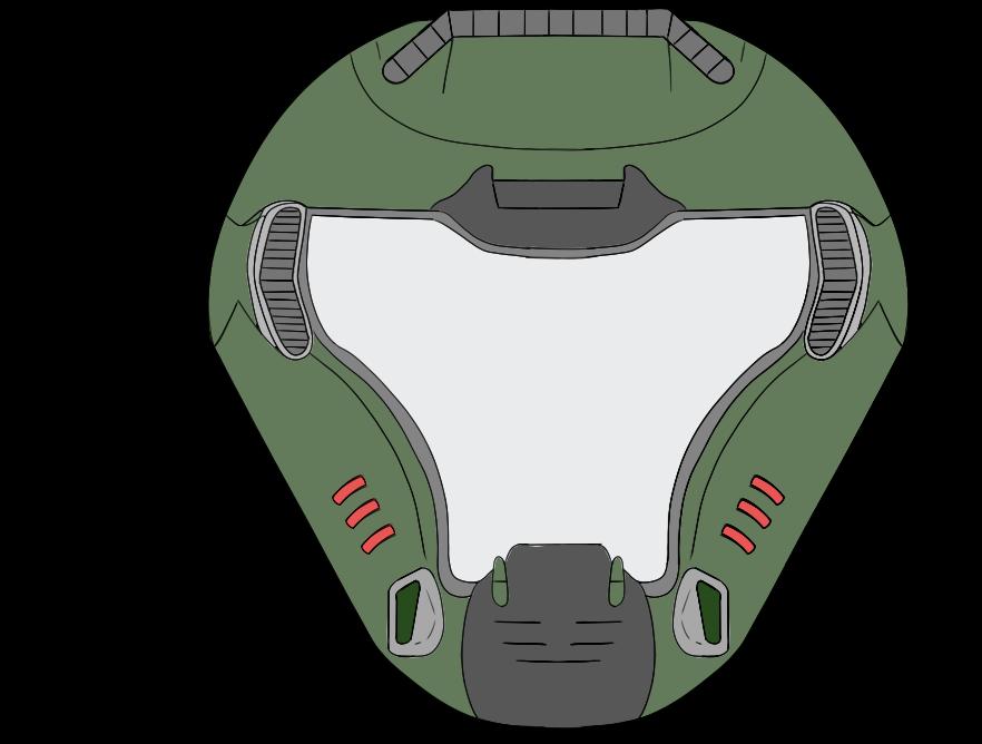 svg royalty free library Doom transparent helmet. By irish john on