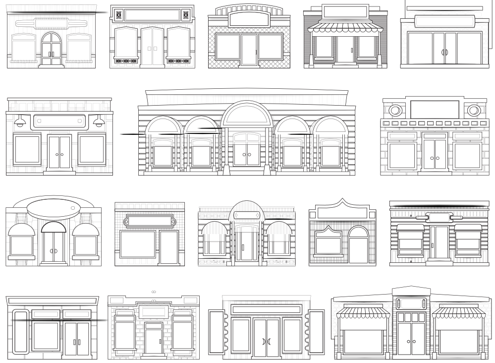 picture black and white download Marvelous front innovative for. Door black and white clipart