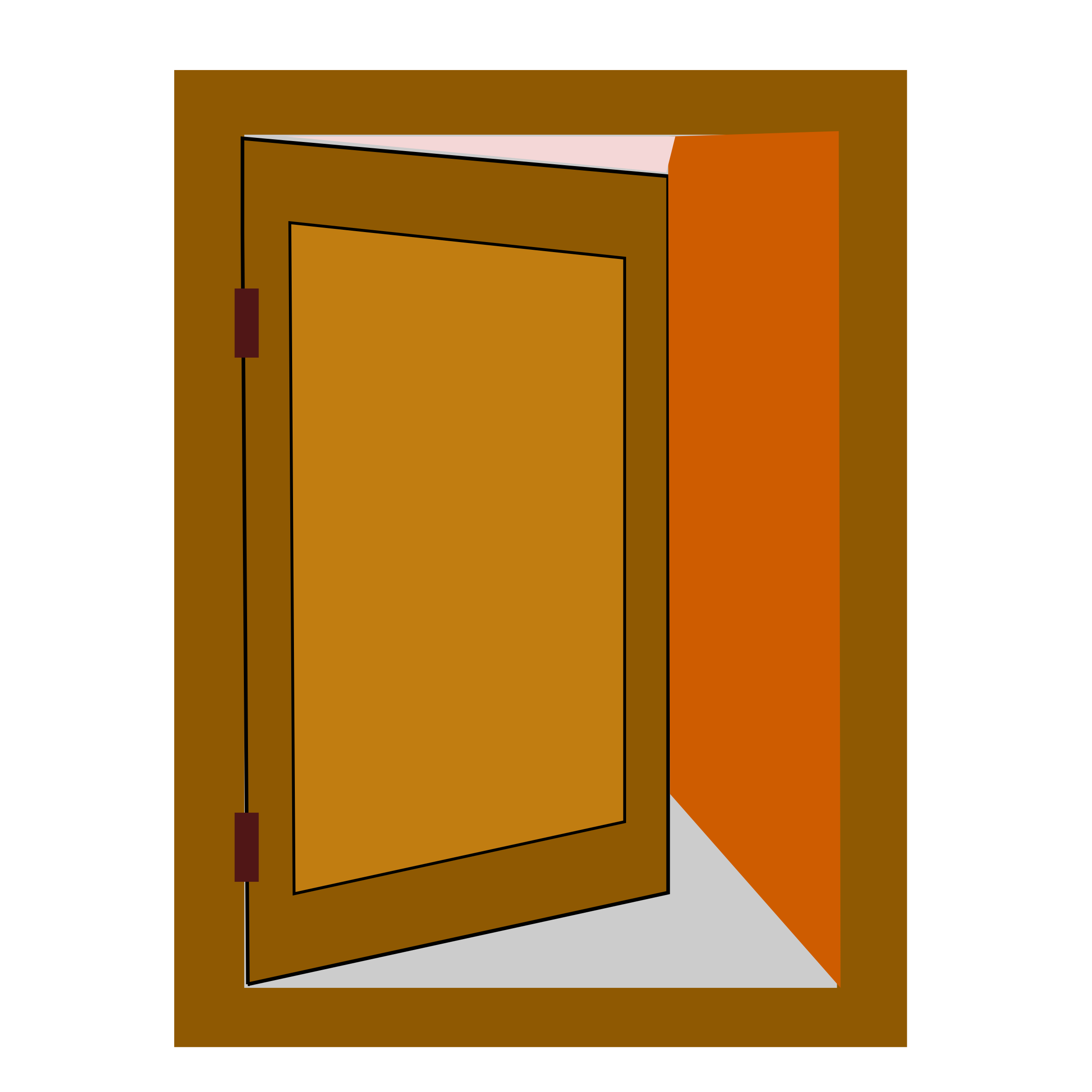 royalty free stock Clipart netalloy big image. Vector door animated