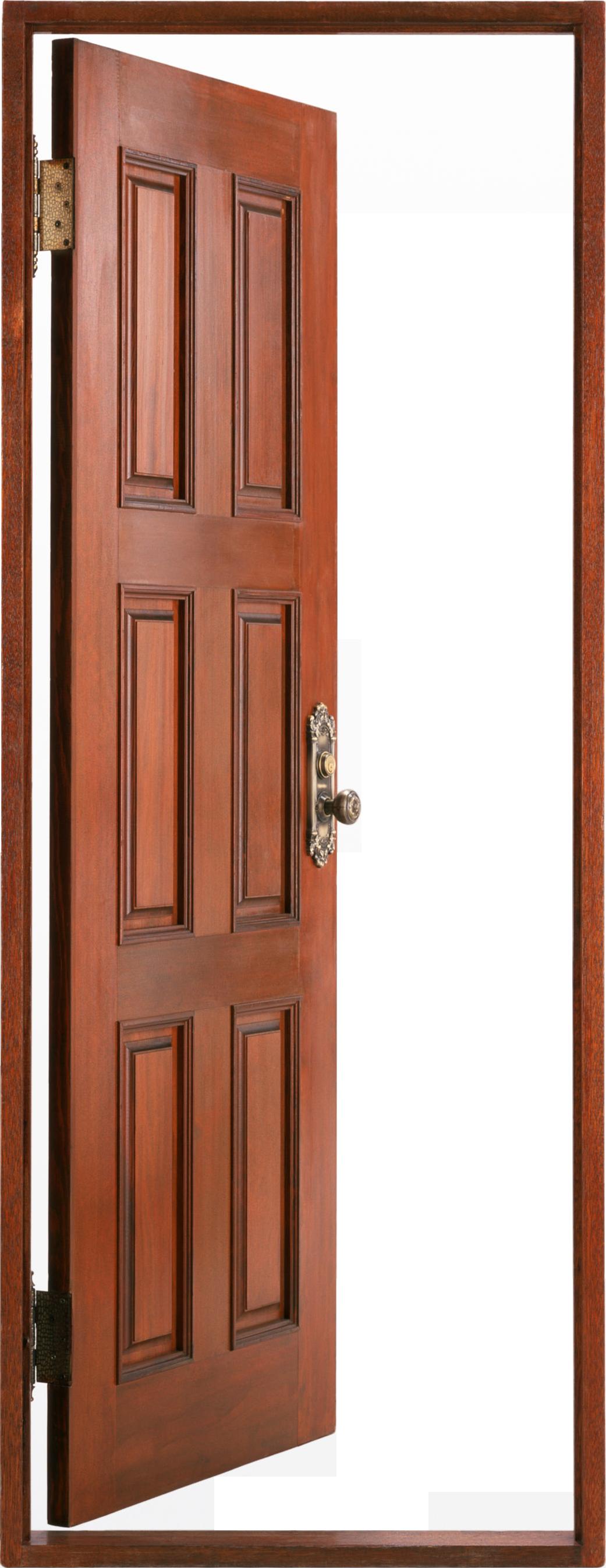 banner Png images wood open. Door transparent