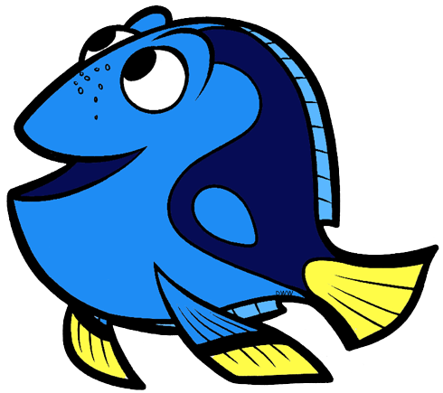 image Finding clip art disney. Dory clipart