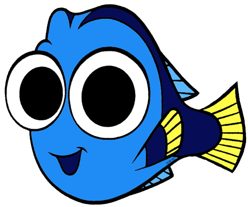 jpg royalty free Finding clip art disney. Dory clipart