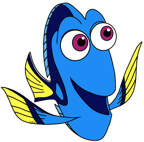 jpg transparent library Finding Dory Clip Art