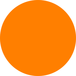 picture transparent Orange . Dot clipart