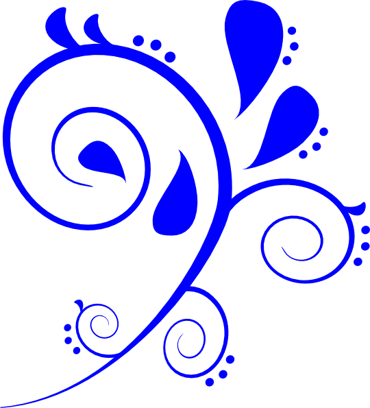 clip free library Vector blue royal. Swirl clip art at