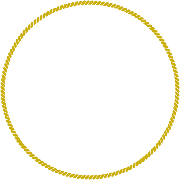 graphic stock Rope Gold Circle Clip Art at Clker