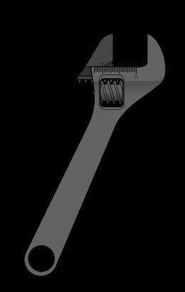 clipart transparent Adjustable spanner