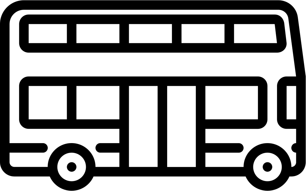 freeuse stock Vector bus double decker. Big svg png icon