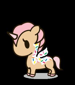 clip art free stock Adorable ice cream unicorn