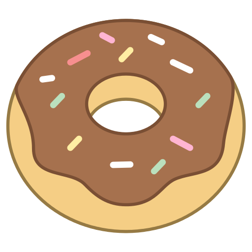 banner black and white download doughnut drawing cartoon #93486416