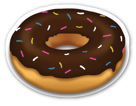 banner royalty free library Doughnut