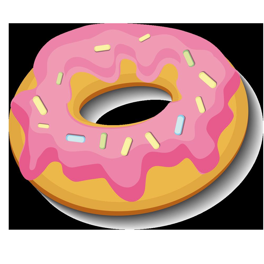 clip art transparent download Doughnut Cartoon Download