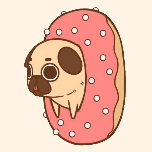 image freeuse library Doughnut drawing pug. Happy national day cute