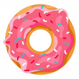 picture royalty free stock Collection of free transparent. Vector donut mini donuts